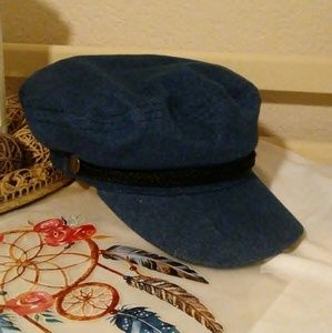 David and Young newsboy hat for women, size O/S